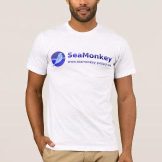 SeaMonkeyのプロジェクト-横のロゴ Tシャツ
