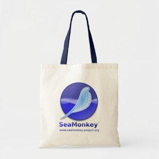 SeaMonkeyのプロジェクト-縦のロゴ トートバッグ