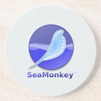 SeaMonkeyの文字のロゴ コースター