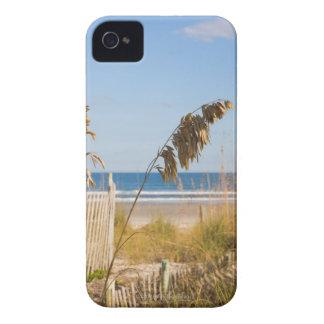Seaoats (Uniolaのpaniculata)およびフェンシングのための Case-Mate iPhone 4 ケース