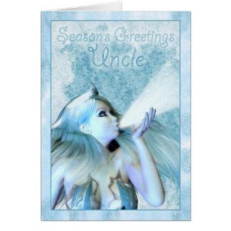Season's Greetingのフロストの娘叔父さんの カード