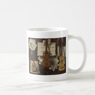 Sebastiano Lazzari Trompe -バイオリンおよび音楽ノート コーヒーマグカップ