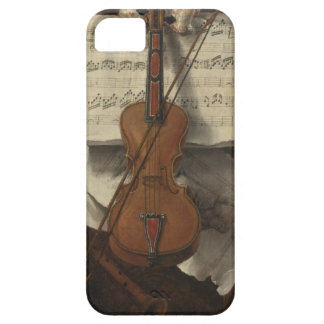 Sebastiano Lazzari Trompe -バイオリンおよび音楽ノート iPhone SE/5/5s ケース
