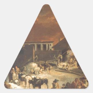 SebastienのBourdonによるEin Römischer Kalkofen 三角形シール