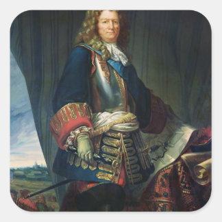 Sebastien le Prestre de Vaubanのポートレート スクエアシール
