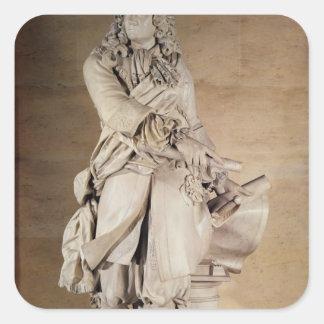 Sebastien Le Prestre de Vauban 1785年の彫像 スクエアシール