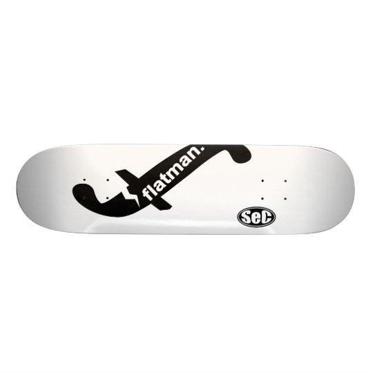 SeC_flatman.logo スケートボード
