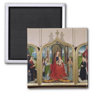 Sedano家族、c.1495-98のトリプティク マグネット