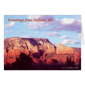 「Sedonaからの挨拶 カード