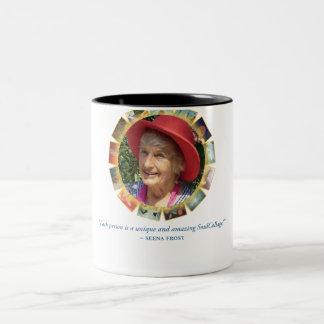 Seenaのユニークな引用文のツートーンマグ ツートーンマグカップ