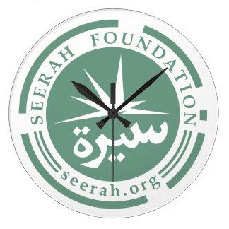Seerahの基礎(ロゴ)時計 ラージ壁時計