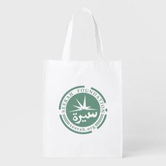 Seerahの基礎(ロゴ)食料雑貨か買い物袋 エコバッグ