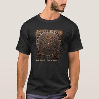 Sefer Yetzirah: 形成(黒)の本 Tシャツ