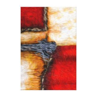 Seghettiの芸術の抽象芸術色#116 キャンバスプリント