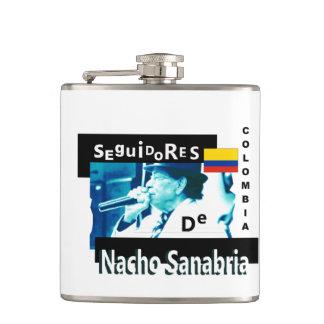 Seguidores de Nacho Sanabria COのフラスコ フラスク