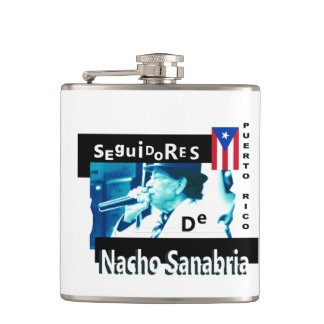 Seguidores de Nacho Sanabria PRのフラスコ フラスク
