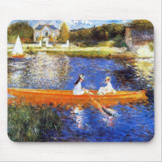 Seine川の船遊び マウスパッド