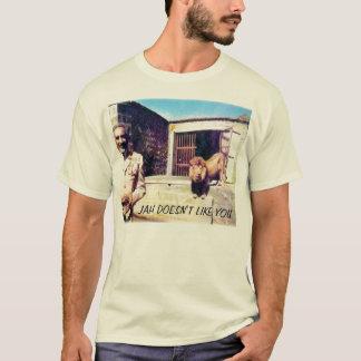 selassieライオン、JAHは好みません Tシャツ