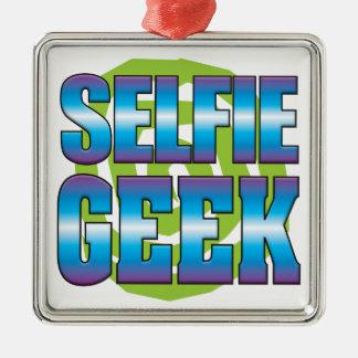 Selfieのギークv3 メタルオーナメント