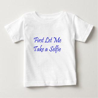 Selfieのスワッグ ベビーTシャツ