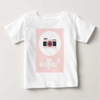 Selfieの印! ベビーTシャツ