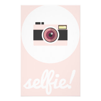 Selfieの印! 便箋