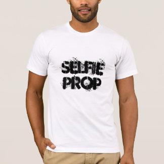 Selfieの支柱-おもしろいのスローガン Tシャツ