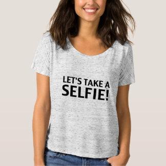Selfieを取ろう! ワイシャツ tシャツ