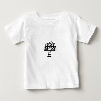 """Selfie常習者# "" ベビーTシャツ"