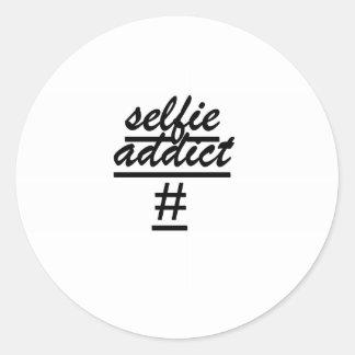 """""""Selfie常習者# """" ラウンドシール"""