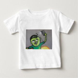 selfie ベビーTシャツ