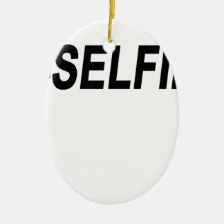 #Selfie T-Shirts.png セラミックオーナメント