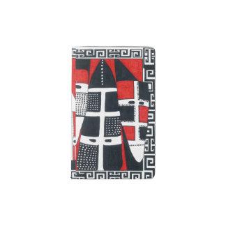 Selknam02チリのインドの民芸ジャーナル ポケットMoleskineノートブック