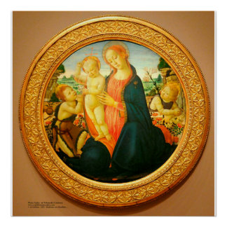 Sellaio著3人の神聖な子供 ポスター