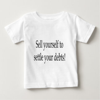 SellYourself3、w ベビーTシャツ