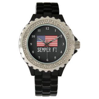 Semper Fiのミリタリー・ウォッチ 腕時計