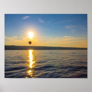seneca湖、ニューヨーク ポスター