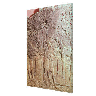 Sennacheribの軍隊によるAlammuの包囲 キャンバスプリント