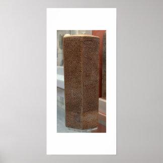 Sennacheribプリズム ポスター