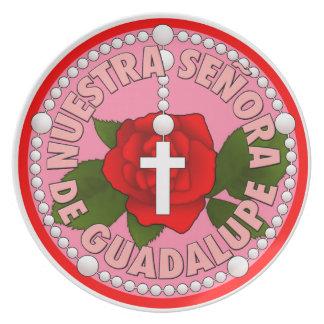 Señora deグアダルペ プレート