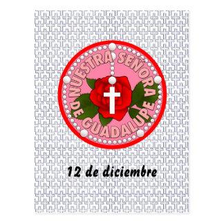 Señora deグアダルペ ポストカード