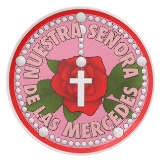 Senoraa de lasメルセデス プレート