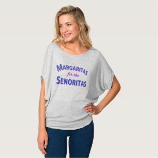 Senoritasのためのマルガリータ Tシャツ
