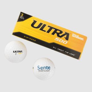 Senteウイルソン超500の間隔のゴルフ・ボール(3パック) ゴルフボール