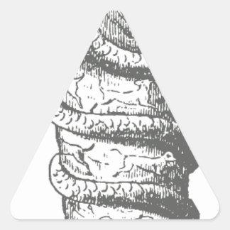 Serapis 三角形シール