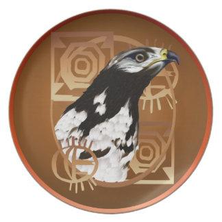 Serengetiのプレートの鳥 パーティー皿
