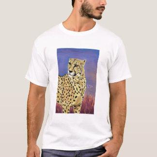 Serengeti EDUN黒の朝は子供の住んでいます Tシャツ