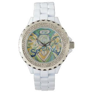 Serenidadの感動的な守り神の腕時計 腕時計
