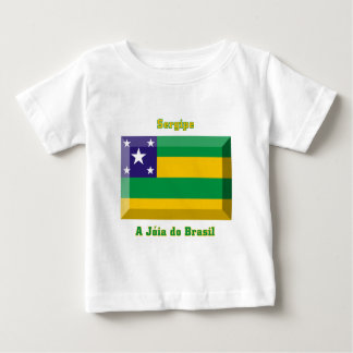 Sergipeの旗の宝石 ベビーTシャツ