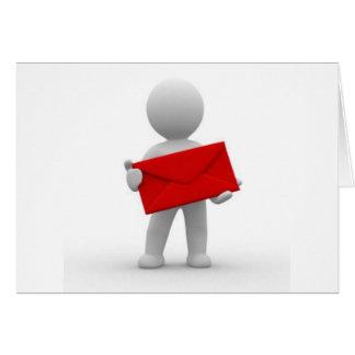 Serieの電子メール カード